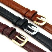 CONDOR Buffalo Grain Padded Leather Watch Strap 10mm 12mm 14mm 131R