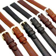 CONDOR Leather Watch Strap Buffalo Grain 8mm 10mm 12mm 14mm 086R