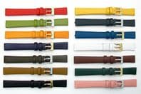 Fine Calf Leather Watch Strap Band Huge Choice of Colours 8mm 10mm 12mm 14mm