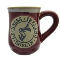 Guinness Pottery Mug Toucan Logo Design 5577