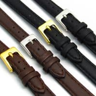 Ladies Soft Genuine Leather watch Strap  D001