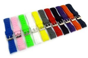 Replacement Strap to fit ICE Watch Curved Ends Silicone 17mm 20mm 22mm C097