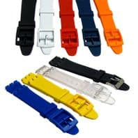 Resin Watch Strap to fit Standard Swatch Watch 17mm  D027