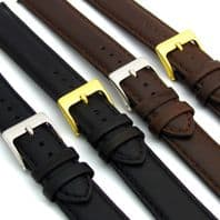 Soft Genuine Leather watch Strap 16mm 18mm 20mm 22mm D001