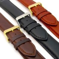 Sorrento Italian Padded Calf Leather Extra Long Watch Strap C017