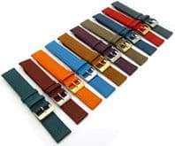 Super Soft Cow Hide Leather Watch Strap by Condor 348R 16mm to 22mm 10 Colors!