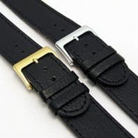 XXL Genuine Leather Watch Band Black or Brown 18mm-24mm  C023