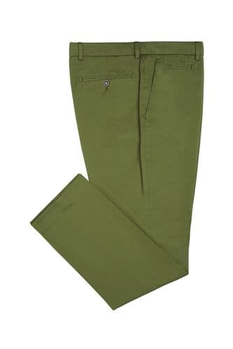 Simon Carter Chinos Trousers Green