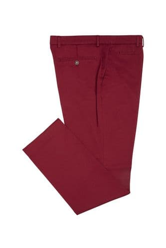 Simon Carter Chinos Trousers Red