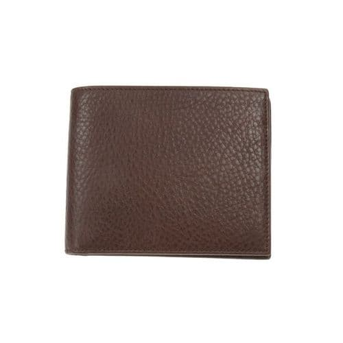 Simon Carter Soft Brown Leather Coin Wallet