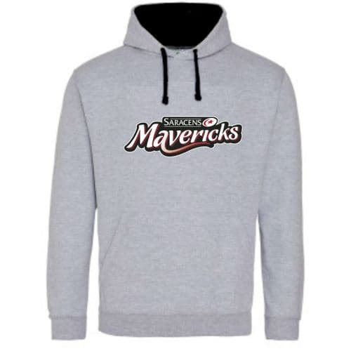 Varsity Hoody Grey/Black Senior