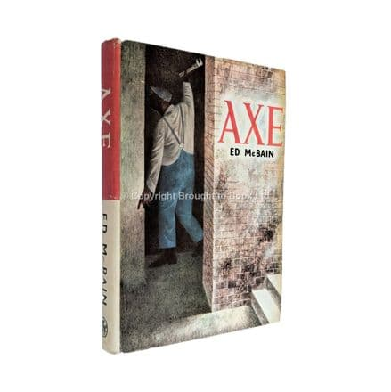 Axe Signed by Ed McBain Thriller Book Club Edition Hamish Hamilton 1964