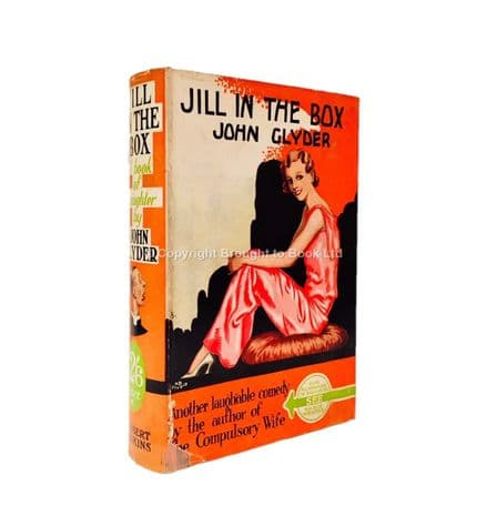 Jill in the Box by John Glyder Fourth Printing Herbert Jenkins c.1936