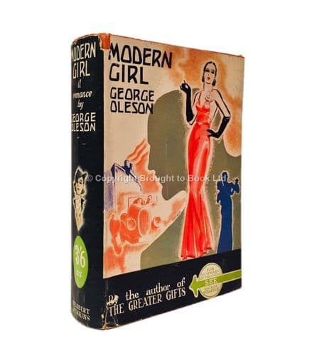 Modern Girl by George Oleson First Edition Herbert Jenkins 1935