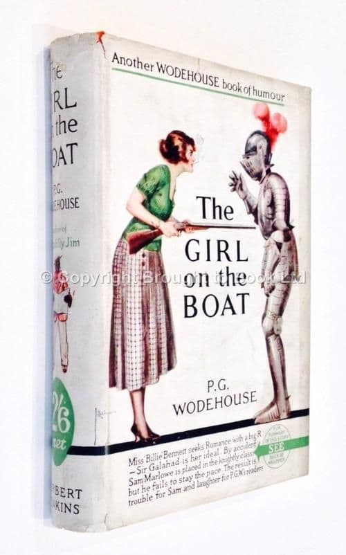 The Girl On the Boat By PG Wodehouse First Edition Herbert Jenkins circa 1926