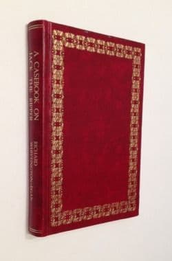 A Casebook on Jack the Ripper by Richard Whittington-Egan SIGNED First Edition Wildy & Sons 1975
