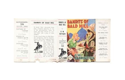 Bandits of Bald Hill by G.W. Barrington Dust Jacket Only First Edition Hutchinson 1935
