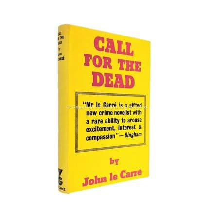 Call For the Dead Signed by John le Carré First Edition Victor Gollancz 1961