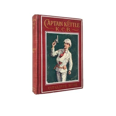Captain Kettle K.C.B. by Cutcliffe Hyne First U.S Edition The Federal Book Company 1903