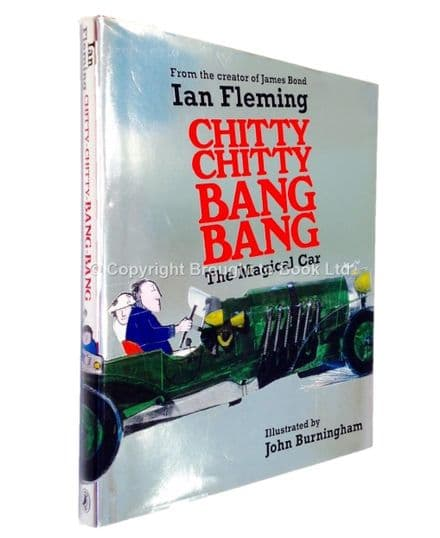 Chitty Chitty Bang Bang The Magical Car by Ian Fleming Signed Puffin 2008