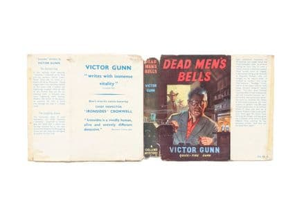 Dead Men's Bells by Victor GunnDust Jacket Only First Edition Collins 1958