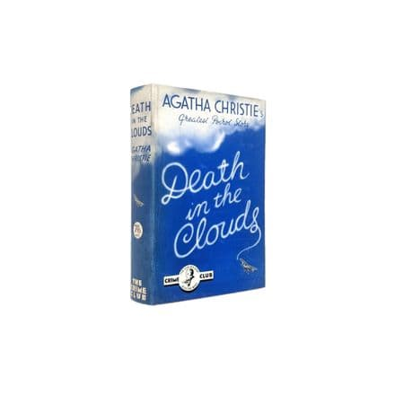 Death In the Clouds by Agatha Christie First Edition The Crime Club Collins 1935