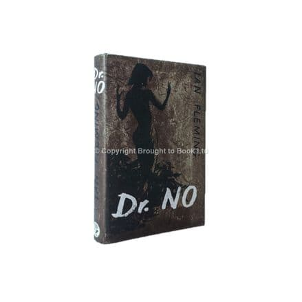 Dr. No by Ian Fleming First Edition Published Jonathan Cape 1958