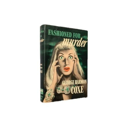 Fashioned For Murder by George Harmon Coxe First Edition Knopf 1947