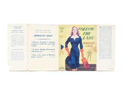 Follow the Lady by Berkeley Gray Dust Jacket Only First Edition Collins 1954