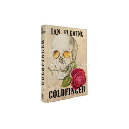 Goldfinger by Ian Fleming First Edition Published Jonathan Cape 1959