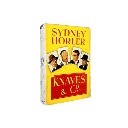 Knaves & Co by Sydney Horler First Edition Collins 1938