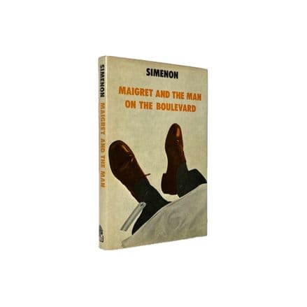 Maigret and the Man On the Boulevard by Simenon First Edition Hamish Hamilton 1975