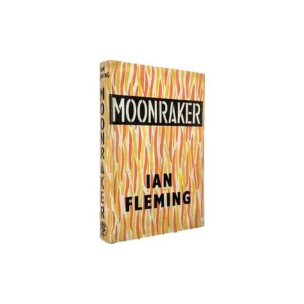 Moonraker by Ian Fleming First Edition Jonathan Cape 1955 (2)