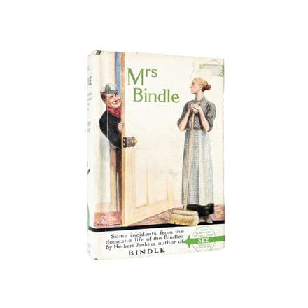 Mrs Bindle by Herbert Jenkins Early Reprint Herbert Jenkins c1938
