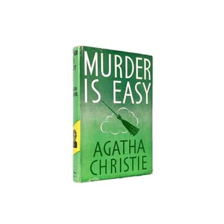 Murder Is Easy by Agatha Christie Reprint The Crime Club Collins 1959