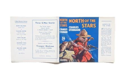 North of the Stars by Charles Stoddard Dust Jacket Only First Edition Cassell 1937