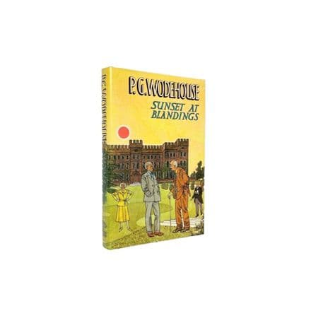 Sunset At Blandings by P.G. Wodehouse First Edition Chatto & Windus 1977