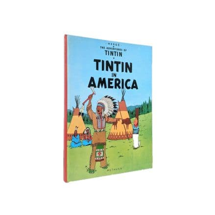 The Adventures of Tintin Tintin In America by Hergé First Edition Methuen 1978
