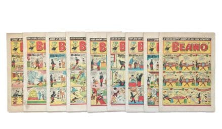 The Beano Comic 1953 23 Issues D.C. Thomson
