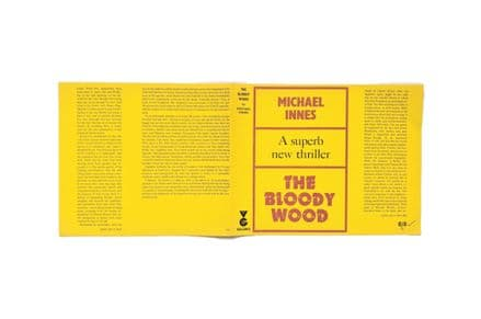 The Bloody Wood by Michael Innes Dust Jacket Only First Edition Prototype Victor Gollancz 1966