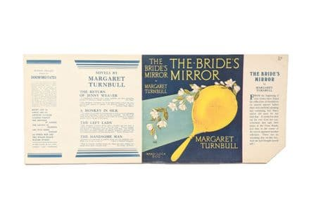 The Bride's Mirror by Margaret Turnball Dust Jacket Only Early Reprint Ward Lock & Co c.1934