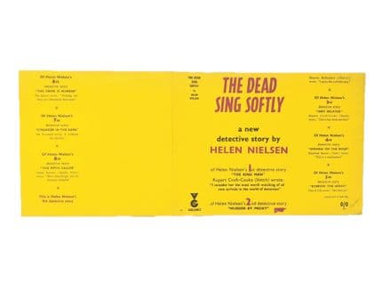 The Dead Sing Softly by Helen Nielsen Dust Jacket Only First Edition Proof Victor Gollancz 1960