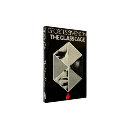 The Glass Cage by Georges Simenon First Edition Hamish Hamilton 1973