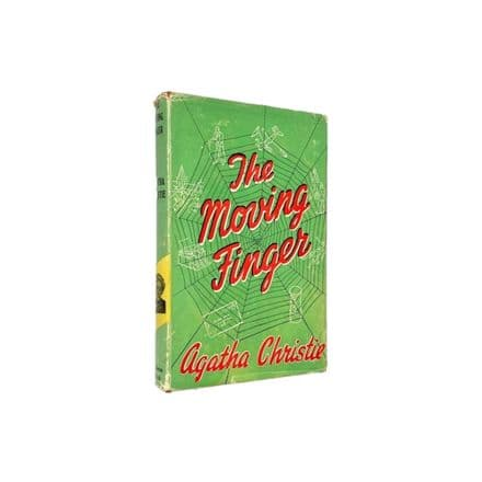 The Moving Finger by Agatha Christie Reprint The Crime Club Collins 1960