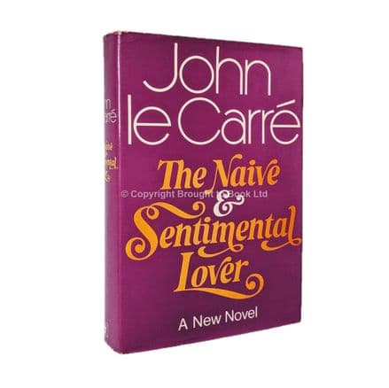 The Naive and Sentimental Lover Signed by John le Carré First Edition Hodder & Stoughton 1971 (3)
