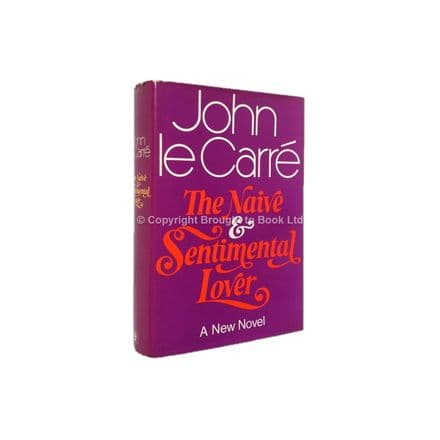 The Naive and Sentimental Lover Signed John le Carré First Edition Hodder & Stoughton 1971 (2)