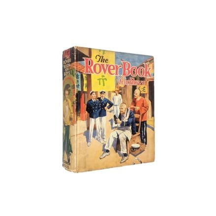 The Rover Book for Boys 1935 D.C. Thomson