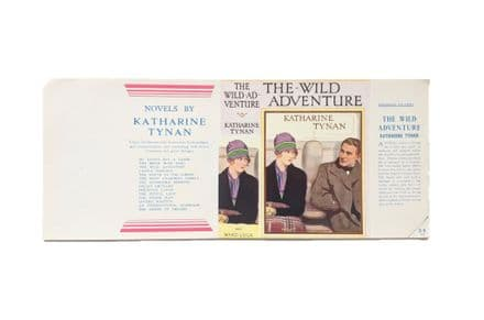 The Wild Adventure by Katharine Tynan Dust Jacket Only Second Impression Ward Lock & Co. 1927