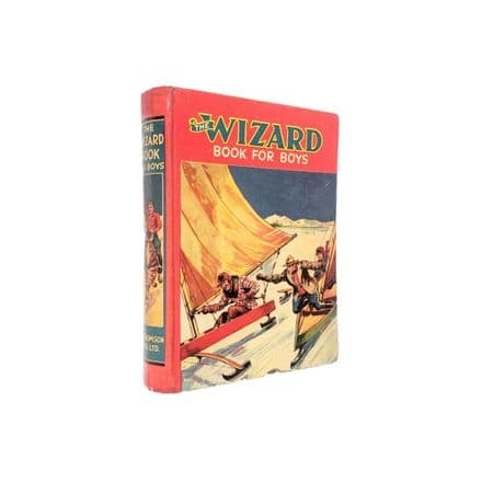 The Wizard Book For Boys 1940 Annual D.C. Thomson
