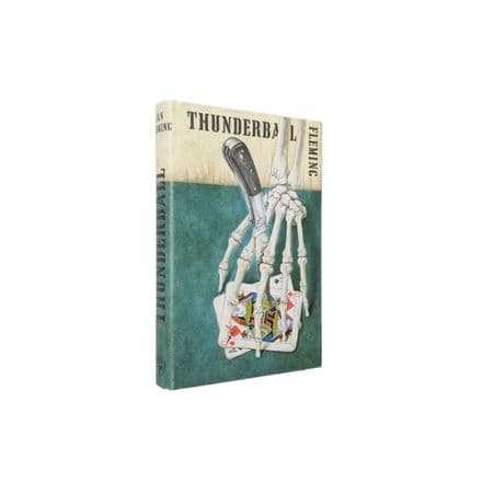 Thunderball by Ian Fleming First Edition Jonathan Cape 1961 (2)